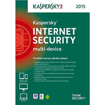 Kaspersky Internet Security multi-device 2015 pro 3 zařízení na 12 měsíců (KL1941OBDFS-6MCZ)