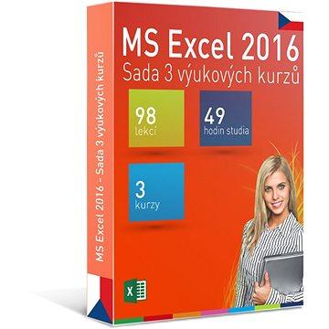 GOPAS MS Excel 2016 - 3 samostudijní výukové kurzy na 365 dní CZ (elektronická licence) (Excel2016-365CZ)