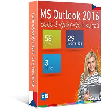 GOPAS MS Outlook 2016 - 3 samostudijní výukové kurzy na 365 dní CZ (elektronická licence) (Outlook2016-365CZ)