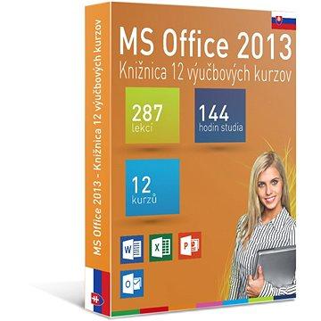 GOPAS MS Office 2013 - 12 samostudijních výukových kurzů na 365 dní SK (elektronická licence) (Office2013-365SK)