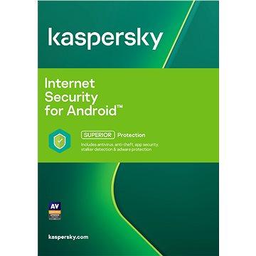 Kaspersky Internet Security pro Android CZ pro 1 mobil nebo tablet na 12 měsíců (elektronická licenc (KL1091XCAFS)
