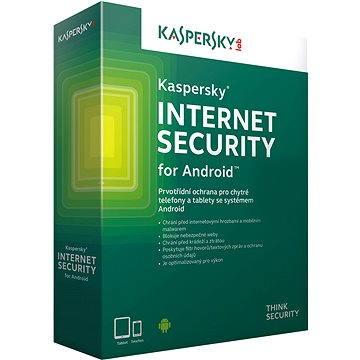 Kaspersky Internet Security pro Android CZ pro 1 mobil nebo tablet na 24 měsíců (elektronická licenc (KL1091OCADS)