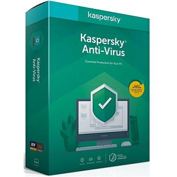 Kaspersky Anti-Virus pro 1 PC na 12 měsíců, nová (BOX) (KL1171X5AFS-20MSBCEE)