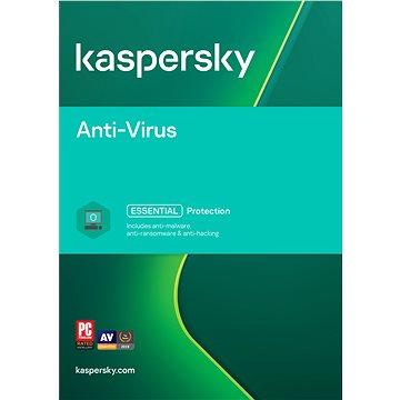 Kaspersky Anti-Virus 2018 pro 3 PC na 12 měsíců (elektronická licence) (KL1171XCCFS)