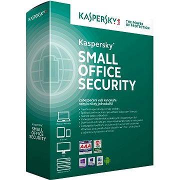 Kaspersky Small Office Security 5 CZ pro 15 PC na 12 měsíců (elektronická licence) (KL4533XCMFS)