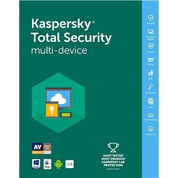 Kaspersky Total Security multi-device 2016/2017 pro 3 zařízení na 12 měsíců (KL1919OCCFS2)