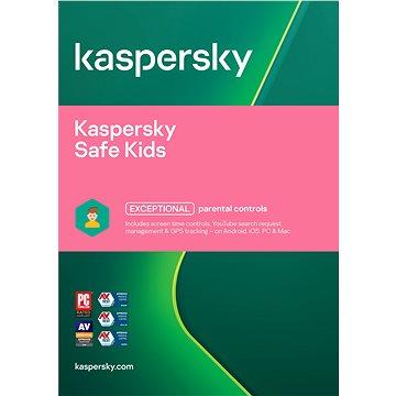 Kaspersky Safe Kids ENG pro 1 zařízení na 12 měsíců (elektronická licence) (KL1962XCAFS)