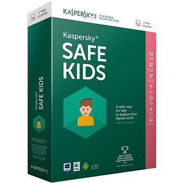 Kaspersky Safe Kids ENG obnova pro 1 zařízení na 12 měsíců (elektronická licence) (KL1962OCAFR)