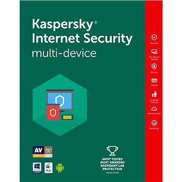 Kaspersky Internet Security multi-device 2018 CZ pro 2 zařízení na 12 měsíců (elektronická licence) (KL1941XCBFSbin12-2)