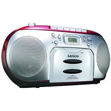Lenco SCD-420 červené (8711902035091)
