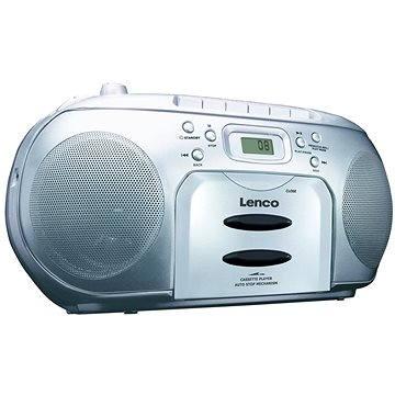 Lenco SCD-420 stříbrné (8711902035077)