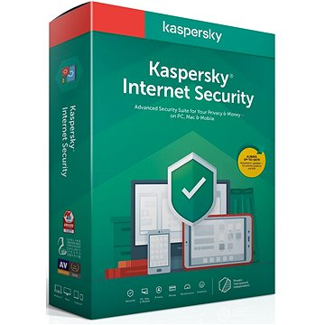 Kaspersky Internet Security, nová licence (BOX)