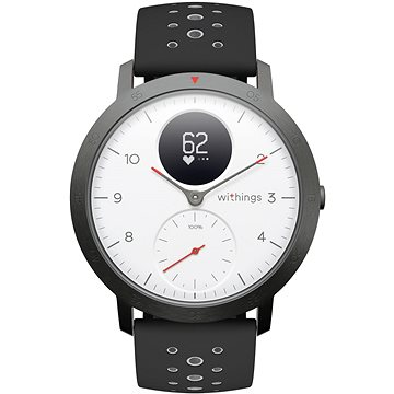 Withings Steel HR Sport (40mm) - White (HWA03b-40white-sp)