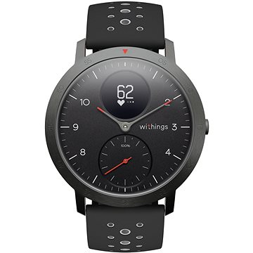 Withings Steel HR Sport (40mm) - Black (HWA03b-40black-sp)