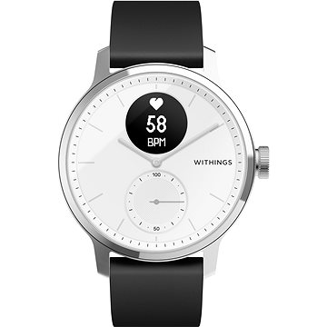 Withings Scanwatch 42mm - White (HWA09-model 3-All-Int)