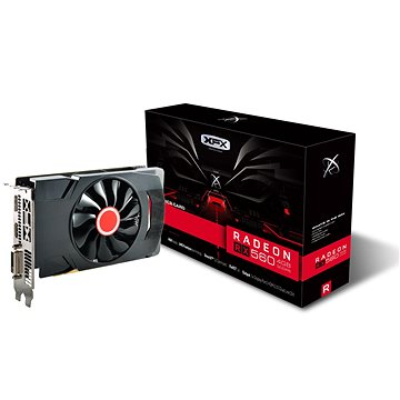 XFX Radeon RX 560 4GB Core Edition Single Fan (RX-560D4SFG5) + ZDARMA Hra pro PC Quake Champions Pack
