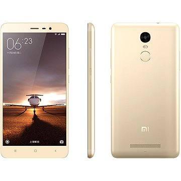Xiaomi Redmi Note 3 PRO 32GB zlatý (472269)