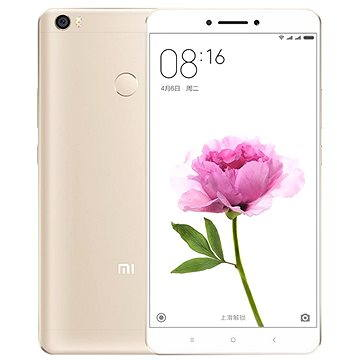 Xiaomi Mi Max 32GB Gold (472423) + ZDARMA Album MP3 Zimní playlist 2017 Digitální předplatné Týden - roční
