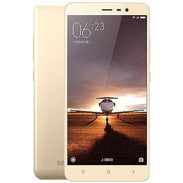 Xiaomi Redmi Note 3 LTE CZ 32GB zlatý (472563) + ZDARMA Album MP3 Zimní playlist 2017 Digitální předplatné Týden - roční