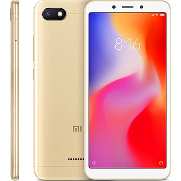 Xiaomi Redmi 6A 32GB LTE Zlatý (18989)