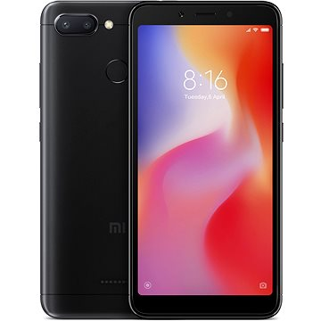 Xiaomi Redmi 6 32GB LTE Černý (19853)