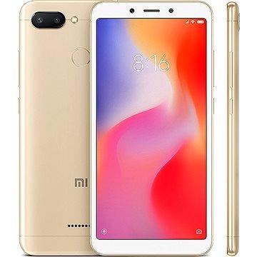 Xiaomi Redmi 6 32GB LTE Zlatý (19007)