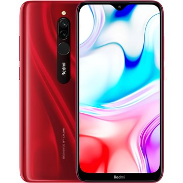 Xiaomi Redmi 8 LTE 64GB červená (25480)