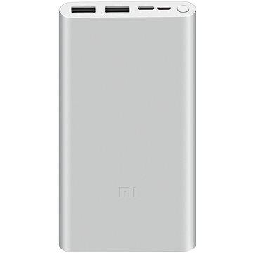 Xiaomi Mi 18W Fast Charge Power Bank 10000mAh stříbrná (473706)