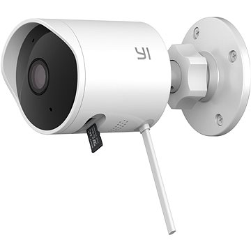 YI Outdoor 1080P Camera White (YI002)