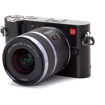 Yi M1 4K Mirrorless Camera Black + 12-40mm (AMI307)