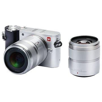 Yi M1 4K Mirrorless Camera Silver + 12-40mm + 42.5mm (AMI310)