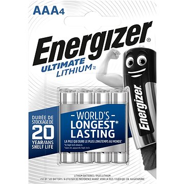 Energizer Ultimate Lithium AAA/4 (639171)