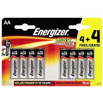 Energizer Max Tužka AA 4+4ks (LR6/8)