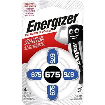 Baterie Energizer 675 DP-4 pro audioprotetiku (EZA004)
