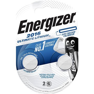 Energizer Ultimate Lithium CR2016 2pack (ECR025)