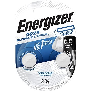 Energizer Ultimate Lithium CR2025 2pack (ECR026)
