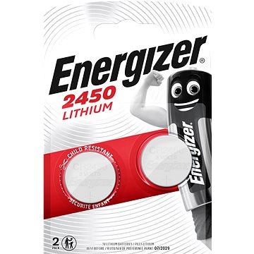 Energizer Lithiová knoflíková baterie CR2450 2 kusy (ECR020)