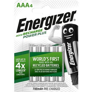 Energizer Power Plus AAA 700mAh 4ks (EHR015)