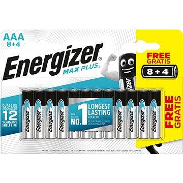 Energizer MAX Plus AAA 8 + 4 ks zdarma (EM010)