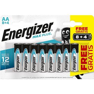 Energizer MAX Plus AA 8 + 4 ks zdarma (EM011)