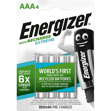 Energizer Extreme AAA (HR03-800mAh) (EHR005)