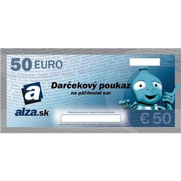 Darčekový poukaz Alza.sk na nákup tovaru v hodnote 50€