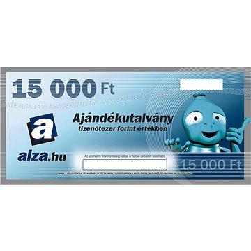 Elektronický dárkový poukaz Alza.hu na nákup zboží v hodnotě 15000 HUF