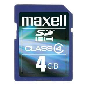 4GB Secure Digital Maxell