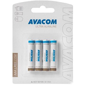 AVACOM Ultra Alkaline AAA 4ks v blistru (SPAV-AAA-UA4)