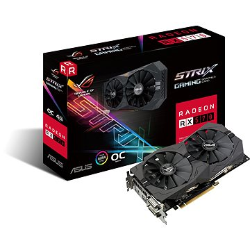 ASUS ROG STRIX GAMING RX570 DirectCU II OC 4GB (90YV0AJ0-M0NA00)
