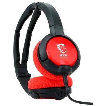 SteelSeries Flux černočervené (S37-2100840-ST5)