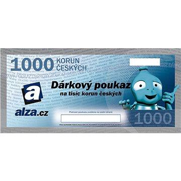 Dárkový poukaz Alza.cz na nákup zboží v hodnotě 1000 Kč