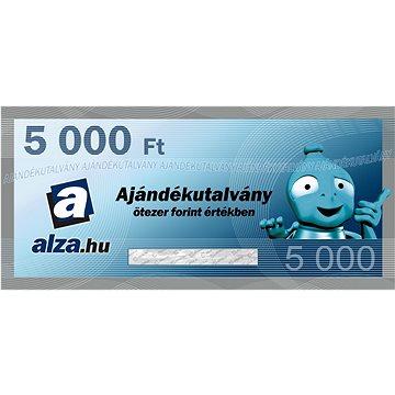 Elektronický dárkový poukaz Alza.hu na nákup zboží v hodnotě 5000 HUF
