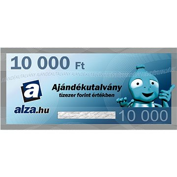 Elektronický dárkový poukaz Alza.hu na nákup zboží v hodnotě 10000 HUF